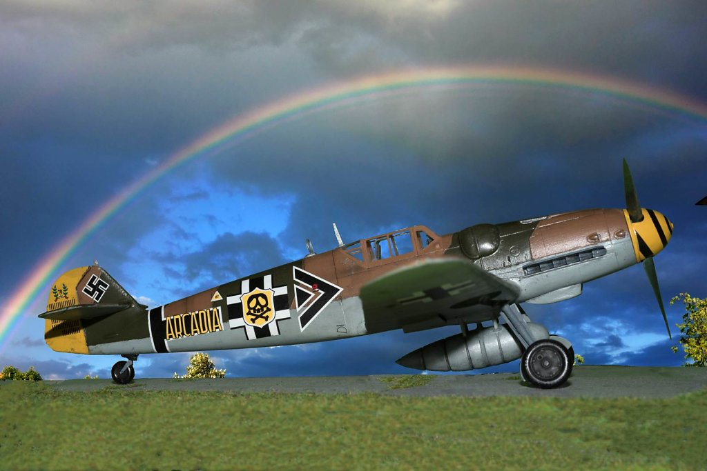 Arcadia Project - Harlock's BF 109G-6